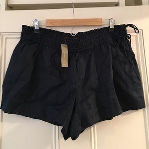 Jcrew linen shorts NWT